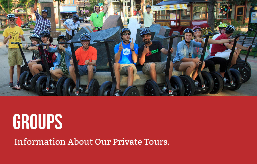 Groups - Information About Our Private Tours